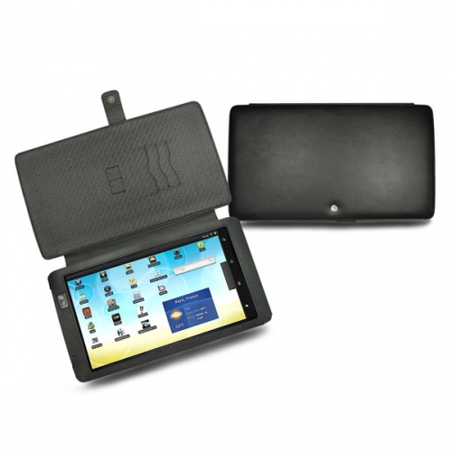 Archos 101  leather case - Noir ( Nappa - Black )