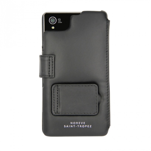 Housse cuir Sony Xperia Z1