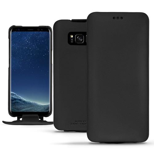 硬质真皮保护套 Samsung Galaxy S8+ - Noir PU