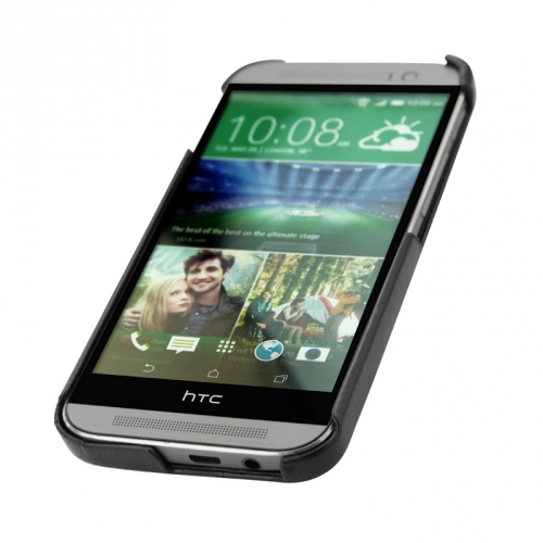 Coque cuir HTC One M8
