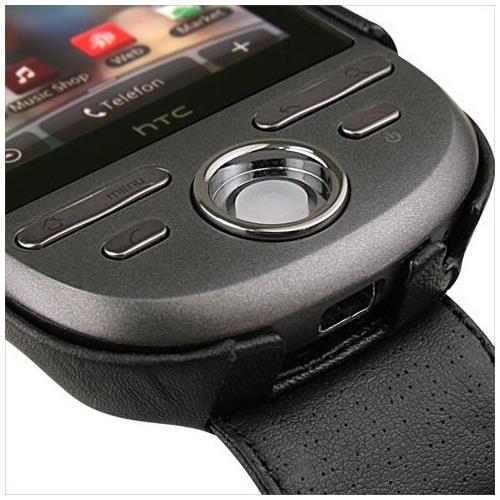Housse cuir HTC Tattoo
