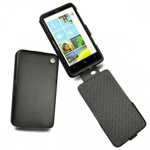 HTC HD7  leather case