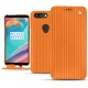 Housse cuir OnePlus 5T - Abaca arancio
