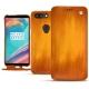 Housse cuir OnePlus 5T - Orange Patine