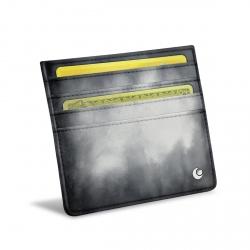 Porta carte X4 - Anti-RFID / NFC - Rose ( Nappa - Pantone 2365C )