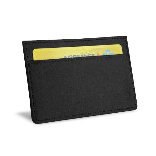 Tarjetero X2 - Anti-RFID / NFC - Noir PU