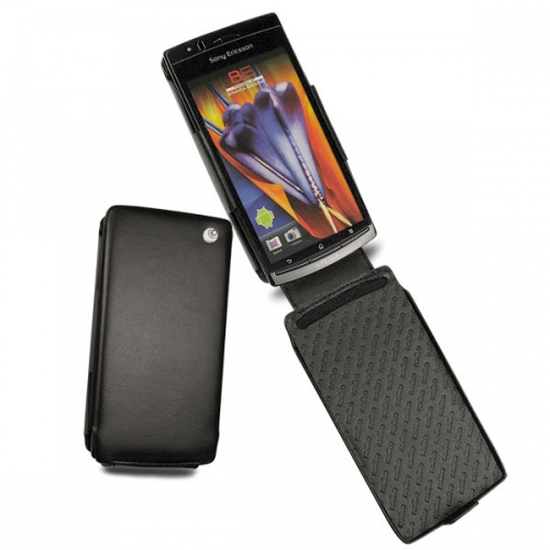 Sony Ericsson Xperia Arc  leather case