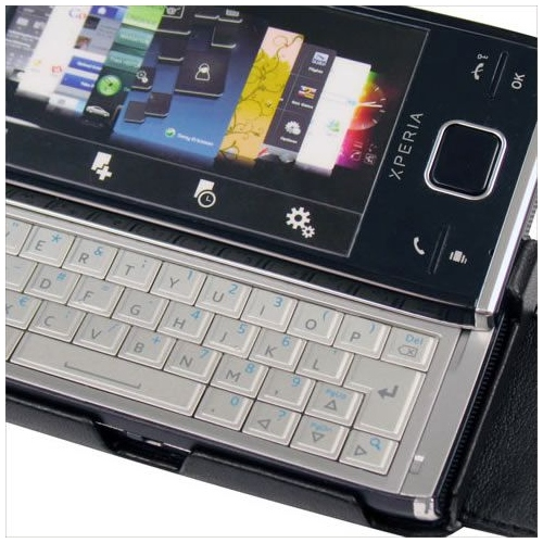 Housse cuir Sony Ericsson Xperia X2