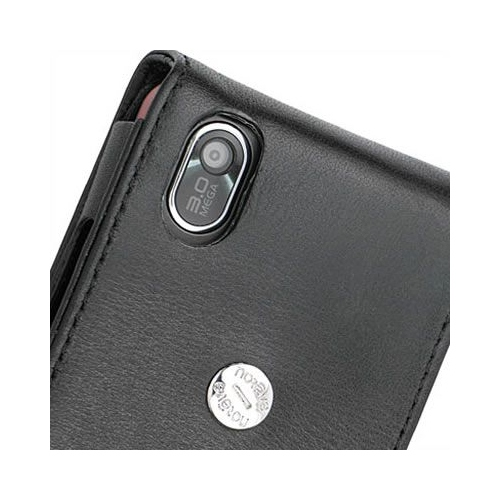 LG KP500 Cookie  leather case