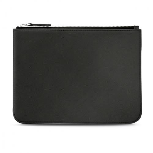 Bag with zip fastener - Noir ( Nappa - Black )