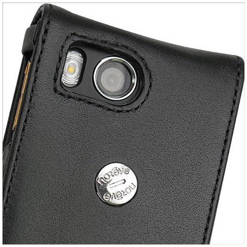 Housse cuir Sony Ericsson W902