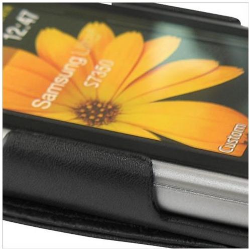 Housse cuir Samsung GT-S7350 Ultraslide