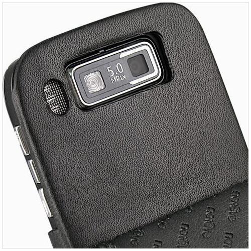 Housse cuir Nokia E72