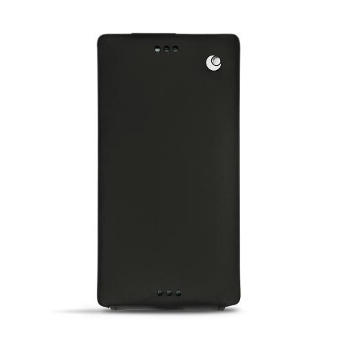 Custodia in pelle Sony Xperia XZ1 Compact
