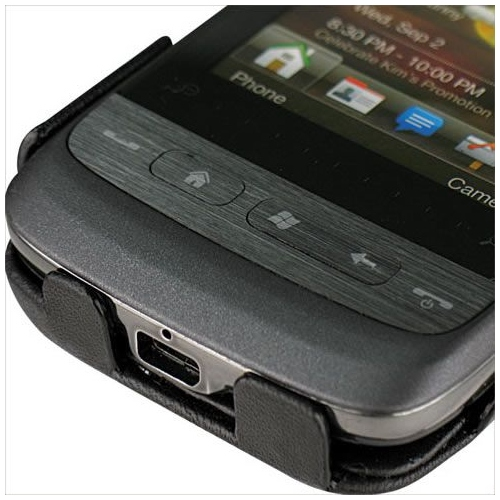 HTC Touch2  leather case