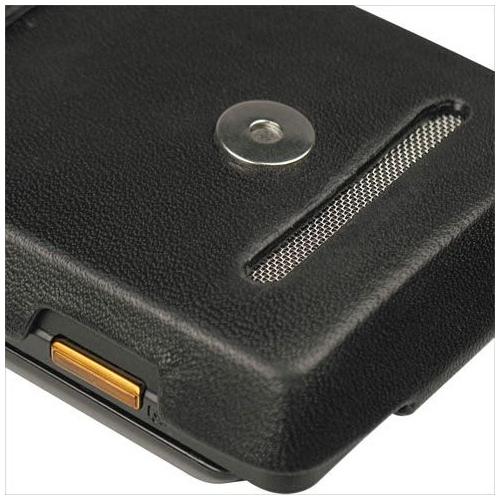 Motorola Droid - Milestone  leather case