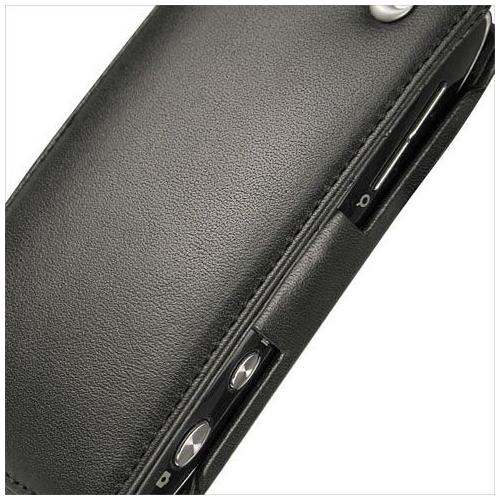 Housse cuir Sony Ericsson Vivaz