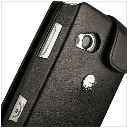 Housse cuir Sony Ericsson Xperia X10 mini pro
