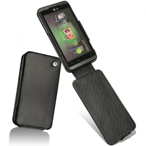 LG Optimus 3D P920  leather case