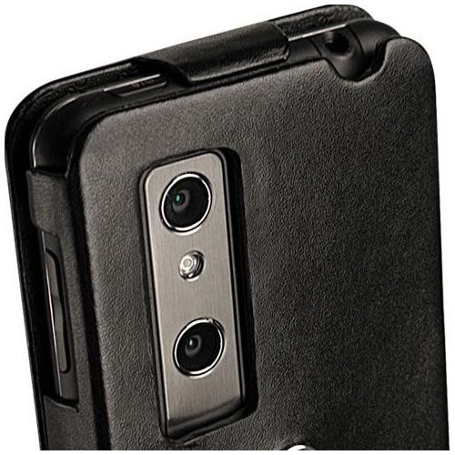 Housse cuir LG Optimus 3D P920