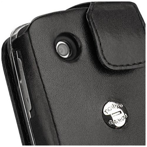 Housse cuir Sony Ericsson txt pro