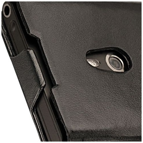Nokia Lumia 800  leather case