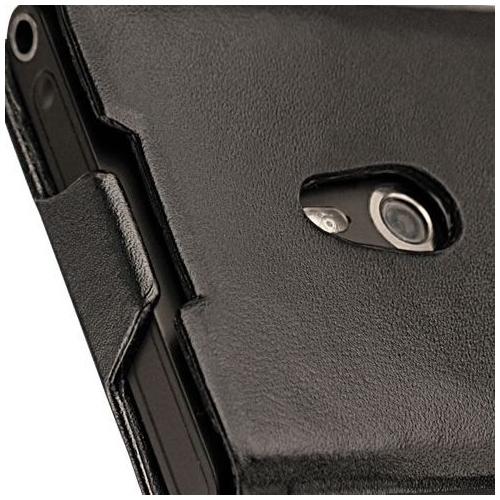 Housse cuir Nokia Lumia 800