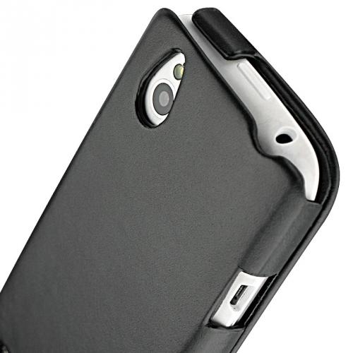 HTC Desire X  leather case