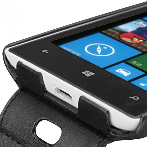 Nokia Lumia 520  leather case