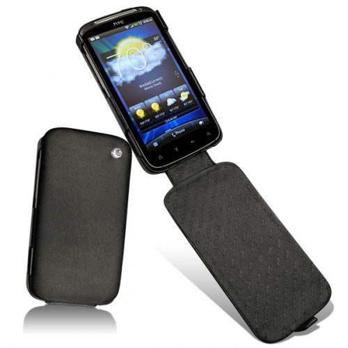 HTC Sensation  leather case