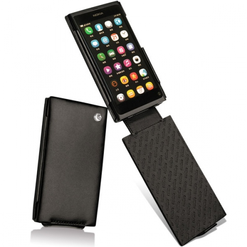 Nokia N9-00  leather case