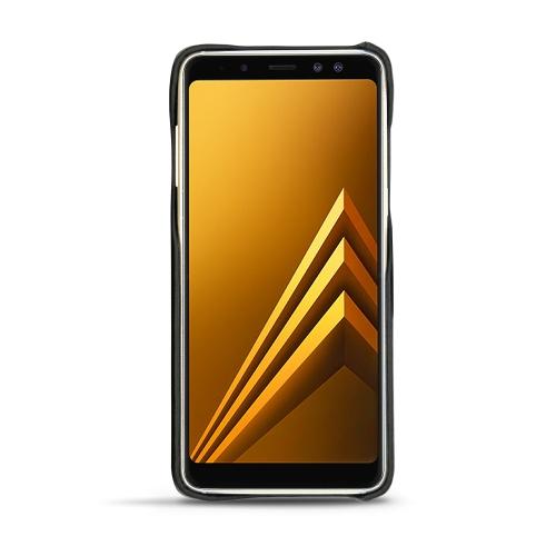 Coque cuir Samsung Galaxy A8+ (2018)