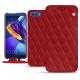 Capa em pele Huawei Honor View 10 - Rouge - Couture ( Nappa - Pantone 199C )