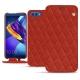 Capa em pele Huawei Honor View 10 - Papaye - Couture ( Pantone 180C )