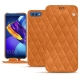 Huawei Honor View 10 leather case - Mandarine vintage - Couture