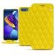 硬质真皮保护套 Huawei Honor View 10 - Jaune fluo - Couture