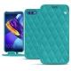 Funda de piel Huawei Honor View 10 - Bleu fluo - Couture