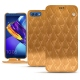 Huawei Honor View 10 leather case - Or Maïa - Couture