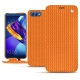 Huawei Honor View 10 leather case - Abaca arancio