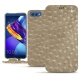 Huawei Honor View 10 leather case - Autruche desert