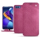Huawei Honor View 10 leather case - Serpent ciclamino