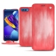Huawei Honor View 10 leather case - Rose Patine