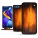 Huawei Honor View 10 leather case - Fauve Patine