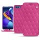 Housse cuir Huawei Honor View 10 - Rose BB - Couture