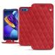 硬质真皮保护套 Huawei Honor View 10 - Rouge troupelenc - Couture