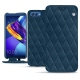Huawei Honor View 10 leather case - Blu mediterran - Couture