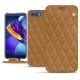 Huawei Honor View 10 leather case - Castan esparciate - Couture
