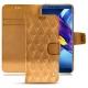 Lederschutzhülle Huawei Honor View 10 - Or Maïa - Couture