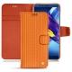 Lederschutzhülle Huawei Honor View 10 - Abaca arancio