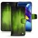 Lederschutzhülle Huawei Honor View 10 - Vert Patine